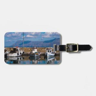 Étiquette À Bagage Vieux port de Kissamos