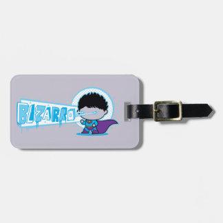 Étiquette À Bagage Vision d'Arctique de Chibi Bizarro