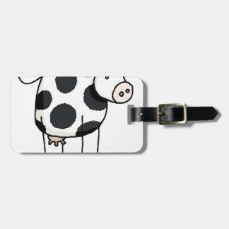 Étiquette À Bagage Vivi vaca