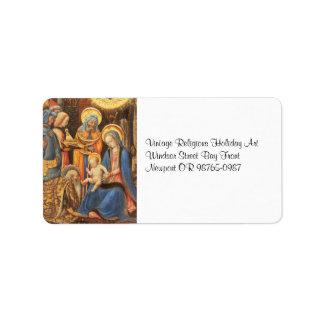 Étiquette Adoration des rois (Magi de dei d'Adorazione)