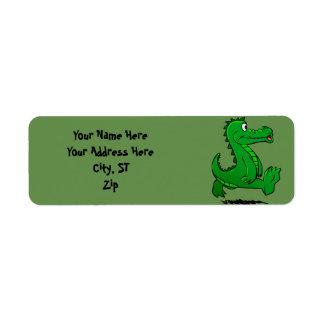 Étiquette Alligator courant