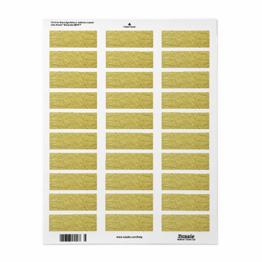 Étiquette Arrière - plan fait sur commande de feuille d'or
