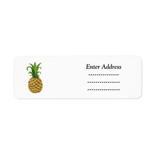 Étiquette Autocollant d'étiquette de adresse de partie
