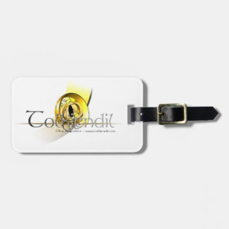 Etiquette Bagage Logo Griffe Tolkiendil Étiquette Pour Bagages