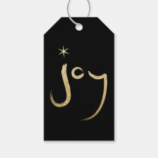 Étiquette balayée de cadeau de Noël de