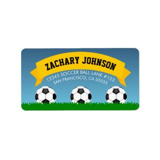 Étiquette Ballons de football
