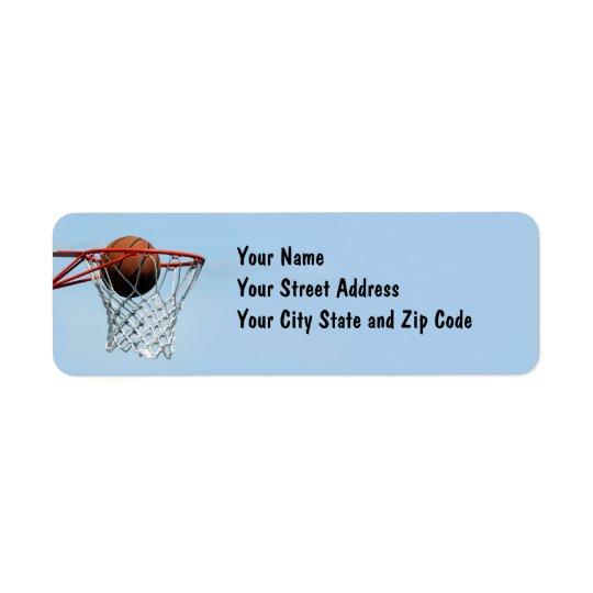 Étiquette Basket-ball