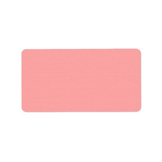 Étiquette Blancs d'achat d'étiquettes de adresse à employer