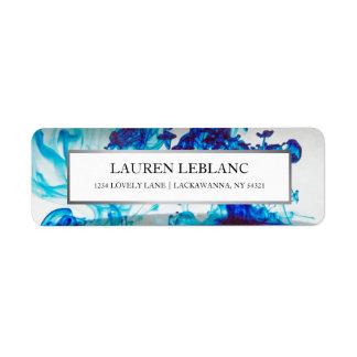 Étiquette Bleu