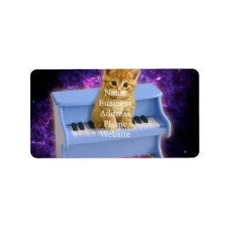 Étiquette Chat de piano