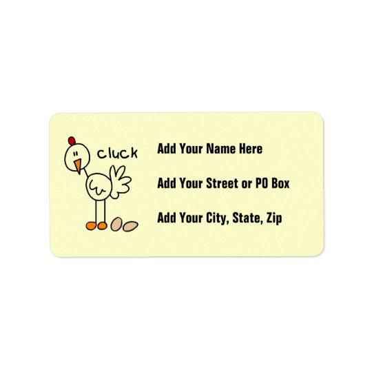 Étiquette Chiffre T-shirts et cadeaux de bâton de poulet
