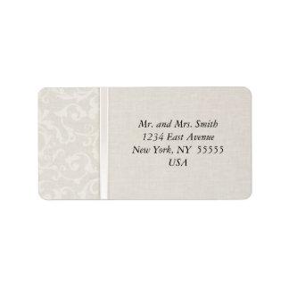 Étiquette Collection naturelle de mariage de SmartElegance