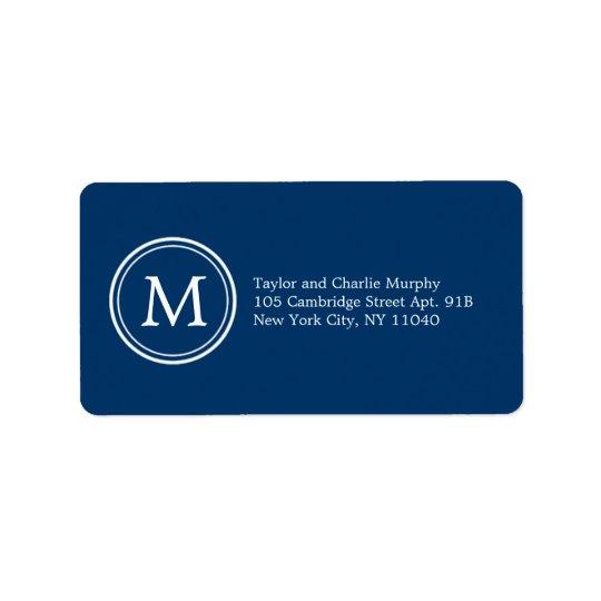 Étiquette Couleur personnalisable d'étiquettes de adresse si