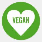 Étiquette culinaire sûr végétalien