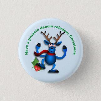 Étiquette de adresse de renne de Dancin Prancin Badges