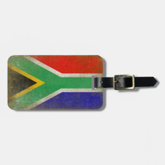 Étiquette de bagage avec le drapeau frais de étiquettes bagages