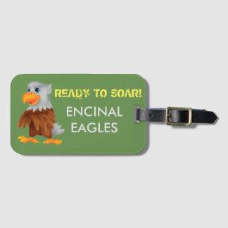 Étiquette de bagage d'Eddie Eagle Étiquette Pour Bagages