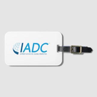 Étiquette de bagage d'IADC avec la fente de carte Étiquettes Bagages
