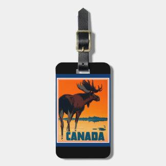 Étiquette de bagage du Canada Étiquette À Bagage