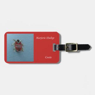 Étiquette de bagage pour un membre de cootie étiquette à bagage