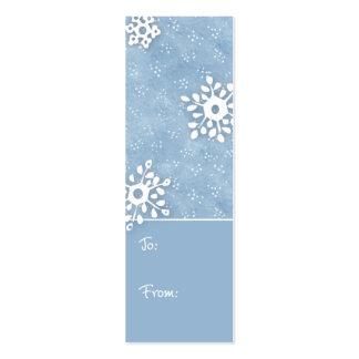 Étiquette de cadeau carte de visite