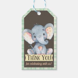 Étiquette de cadeau de Merci de baby shower