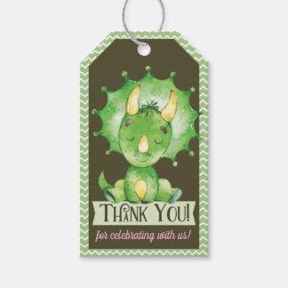 Étiquette de cadeau de Merci de baby shower de