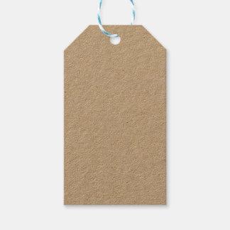 Étiquette de cadeau de Papier d'emballage