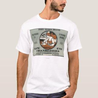Étiquette de canneberge de marque de Cape Cod John T-shirt