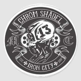 Étiquette de Chrom Shadel