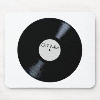 Étiquette de disque de mélange du DJ Tapis De Souris