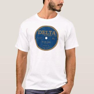 Étiquette de disques de delta t-shirt