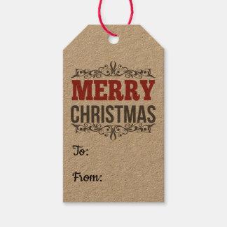 Étiquette de Joyeux Noël