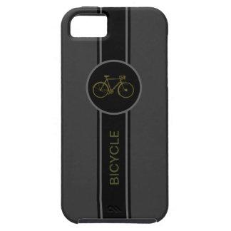 étiquette de noir de bicyclette coques iPhone 5