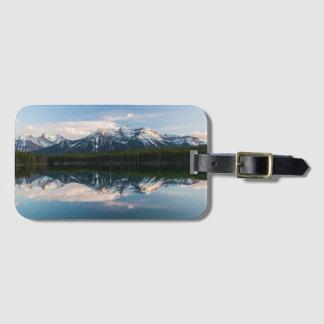 Étiquette de sac de lac herbert, Alberta, Canada Étiquette À Bagage