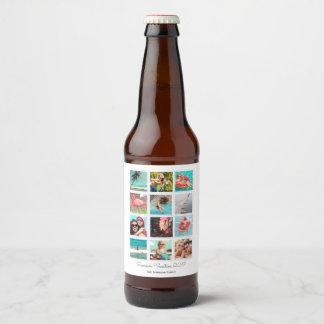 Étiquette fait sur commande de bière de l'aperçu |