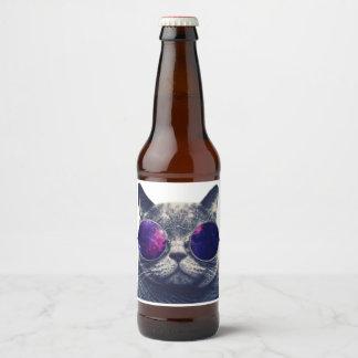 Étiquette fait sur commande de bouteille à bière