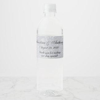 Étiquette fait sur commande de faveur de noce de
