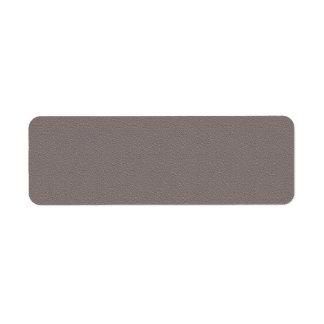 Étiquette GRIS-FONCÉ : Copie dans le blanc