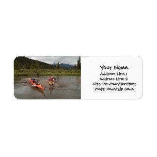 Étiquette Kayaks sur une île