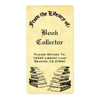 Étiquette La coutume de la bibliothèque du cru réserve des