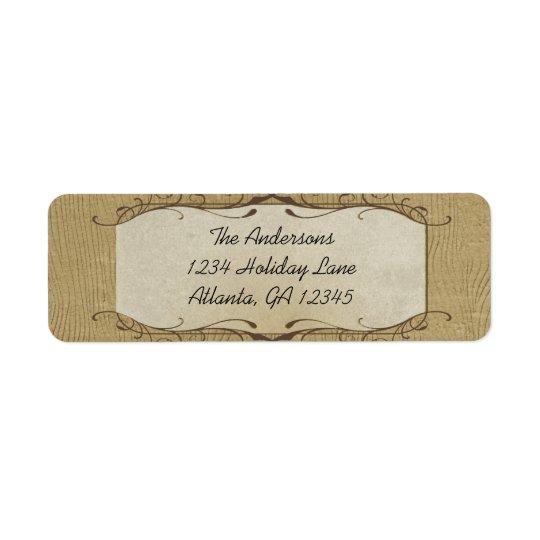 Étiquette La pierre a tourbillonné sur l'étiquette de