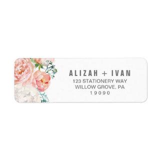 Étiquette La pivoine romantique fleurit le mariage