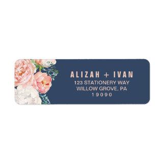 Étiquette La pivoine romantique fleurit le mariage bleu de |