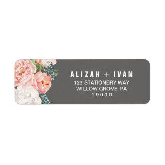 Étiquette La pivoine romantique fleurit le mariage gris de |