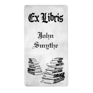 Étiquette Le cru ex fait sur commande de Libris réserve des