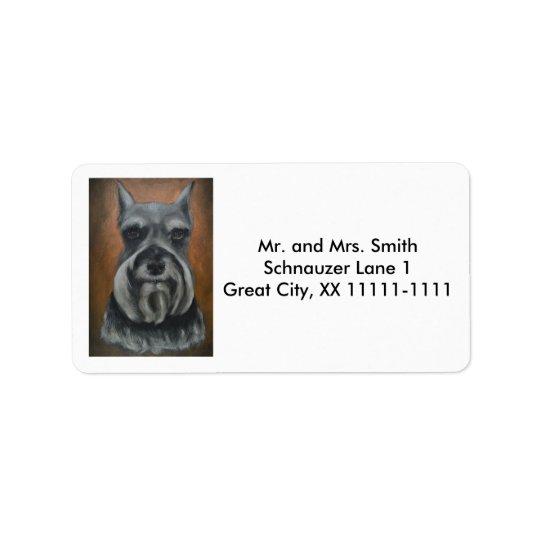 Étiquette No. personnalisable 4 d'étiquettes de adresse de