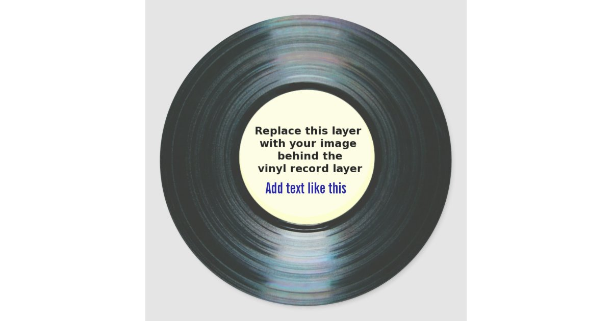 how to put custom music on a record