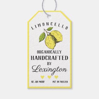 Étiquette organique | de coup de bouteille de