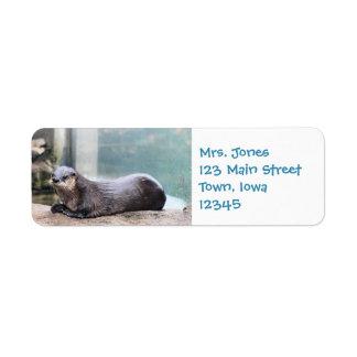 Étiquette Otterly mignon